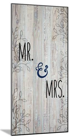 Mr and Mrs-Kimberly Allen-Mounted Art Print