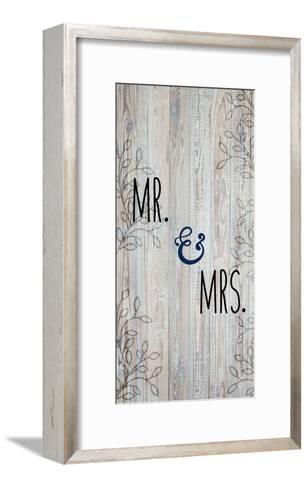 Mr and Mrs-Kimberly Allen-Framed Art Print