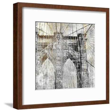 In the City 1-Kimberly Allen-Framed Art Print