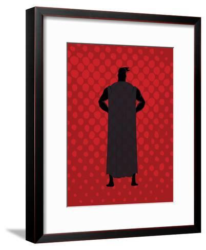 Super 2-Kimberly Allen-Framed Art Print