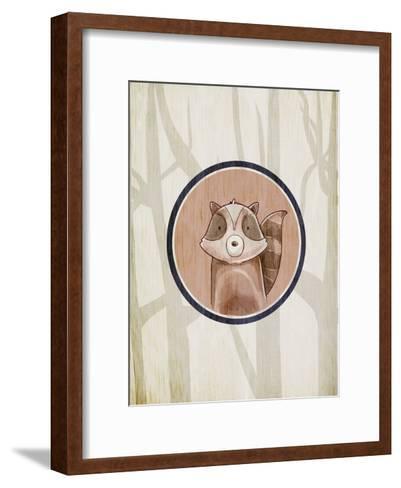 Forest Animals 1-Kimberly Allen-Framed Art Print