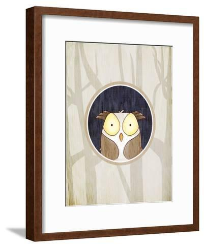 Forest Animals 2-Kimberly Allen-Framed Art Print