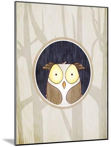 Forest Animals 2-Kimberly Allen-Mounted Art Print