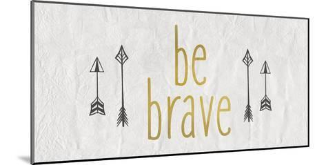 Be Brave 1-Kimberly Allen-Mounted Art Print