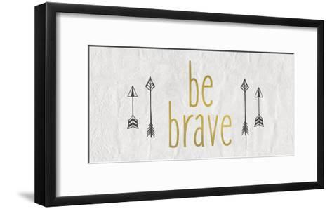 Be Brave 1-Kimberly Allen-Framed Art Print