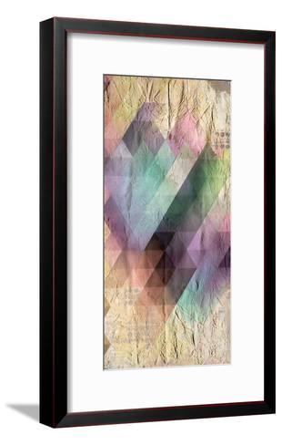 Color Code 1b-Kimberly Allen-Framed Art Print