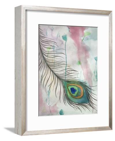 Feather 556-Debbie Pearson-Framed Art Print