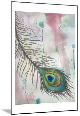 Feather 556-Debbie Pearson-Mounted Art Print