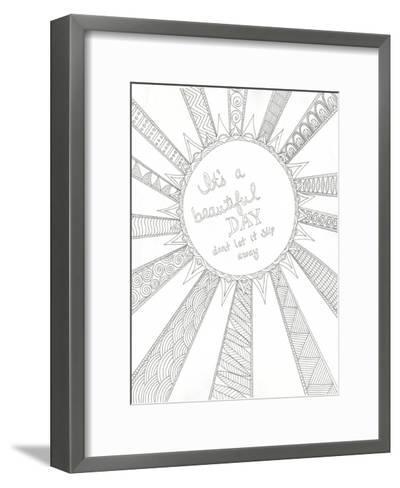 Beautiful Day-Pam Varacek-Framed Art Print