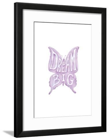 Dream Big Butterfly-Pam Varacek-Framed Art Print