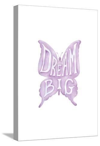 Dream Big Butterfly-Pam Varacek-Stretched Canvas Print
