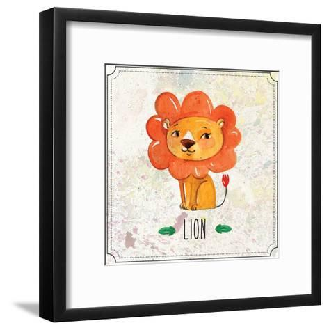 Jungle Day 1-Kimberly Allen-Framed Art Print