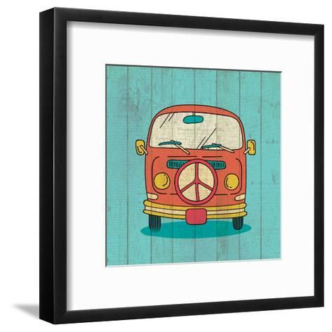 Groovy 2-Kimberly Allen-Framed Art Print