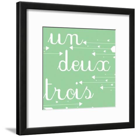 Un Deux Trois-Jelena Matic-Framed Art Print