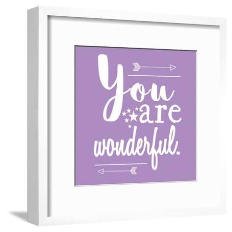 You Are Wonderful-Jelena Matic-Framed Art Print