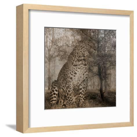 Wild Jungle 1-Sheldon Lewis-Framed Art Print