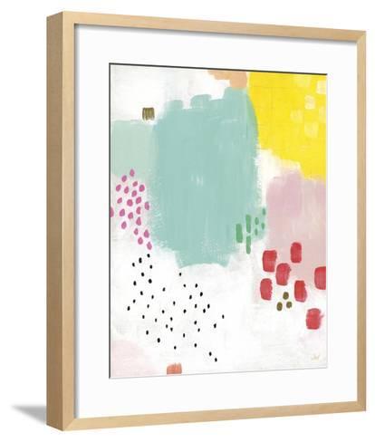 Dots and Colours - Mottle-Joelle Wehkamp-Framed Art Print