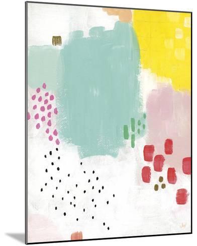 Dots and Colours - Mottle-Joelle Wehkamp-Mounted Art Print