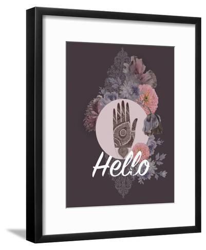 Hamsa-Anahata Katkin-Framed Art Print