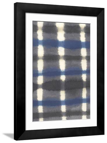 Shibori - Arashi-Sandra Jacobs-Framed Art Print