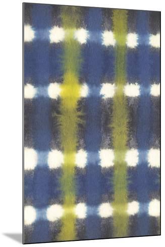 Shibori - Itajime Check-Sandra Jacobs-Mounted Giclee Print
