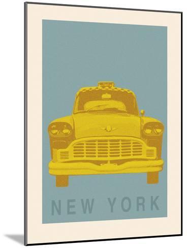 New York - Cab-Ben James-Mounted Giclee Print