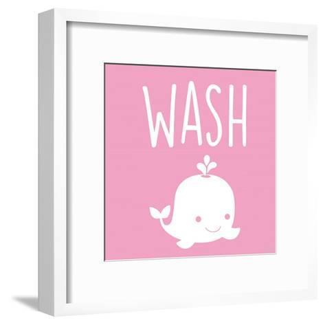 Sea Creatures-Wash-Color Me Happy-Framed Art Print