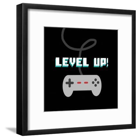 Level Up!-Color Me Happy-Framed Art Print