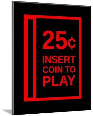 Insert Coin To Play-Color Me Happy-Mounted Art Print