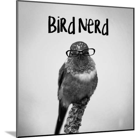 Bird Nerd - Hummingbird-Color Me Happy-Mounted Art Print