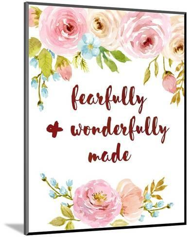 Fearfully & Wonderfully Made-Color Me Happy-Mounted Art Print