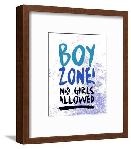 Boy Zone-Grunge-Color Me Happy-Framed Art Print