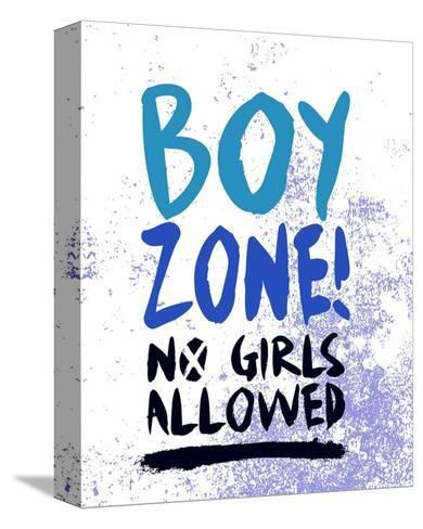 Boy Zone-Grunge-Color Me Happy-Stretched Canvas Print