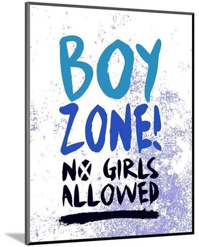 Boy Zone-Grunge-Color Me Happy-Mounted Art Print