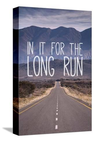 For The Long Run-Take Me Away-Stretched Canvas Print