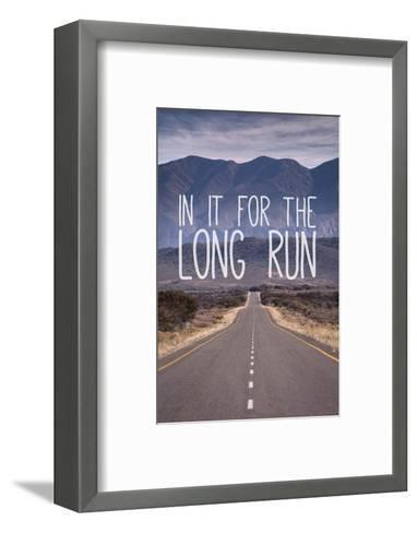 For The Long Run-Take Me Away-Framed Art Print
