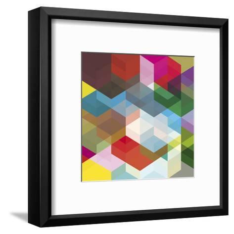 Cuben Shambles-Simon C^ Page-Framed Art Print