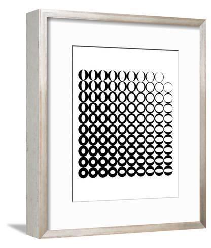 0 to Zero-Simon C^ Page-Framed Art Print