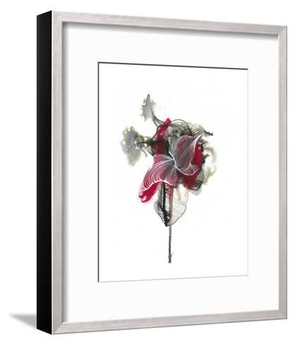 Abstractions of the Heart-Kiran Patel-Framed Art Print