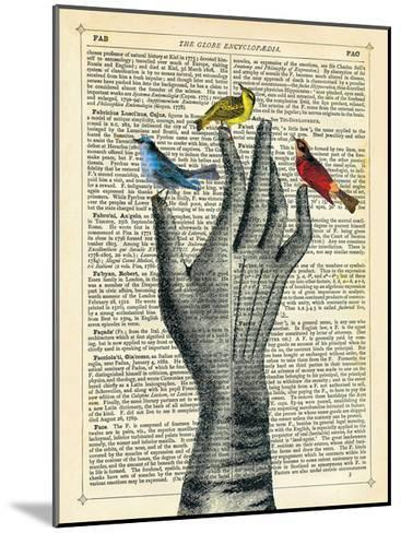Bird in the Hand-Marion Mcconaghie-Mounted Giclee Print