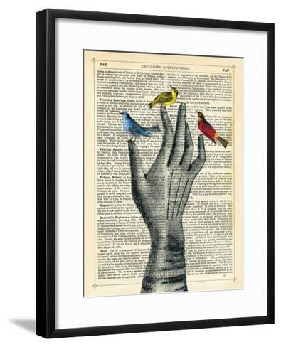 Bird in the Hand-Marion Mcconaghie-Framed Art Print