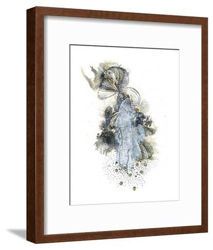 The Unknown-Kiran Patel-Framed Art Print