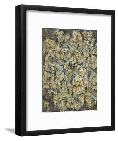 Layered Color-Patricia Russac-Framed Art Print