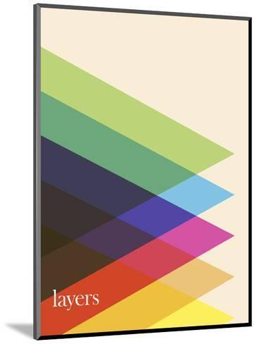 Layers-Simon C^ Page-Mounted Art Print