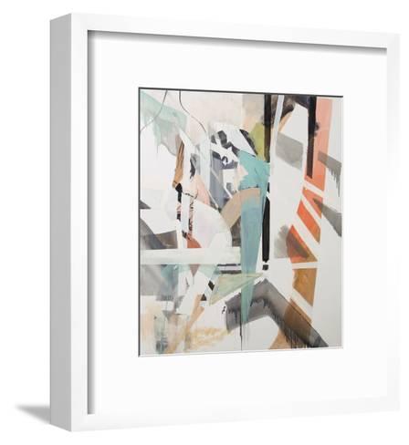 Sugar co eating words-Petra Williams-Framed Art Print
