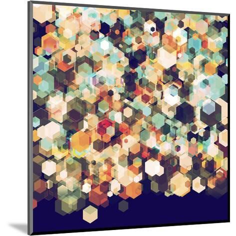 Cuben Cubic Spine-Simon C^ Page-Mounted Art Print
