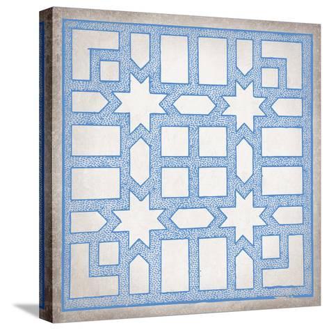 Ancient Geometry I-Maria Mendez-Stretched Canvas Print