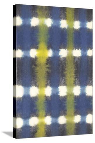 Shibori - Itajime Check-Sandra Jacobs-Stretched Canvas Print