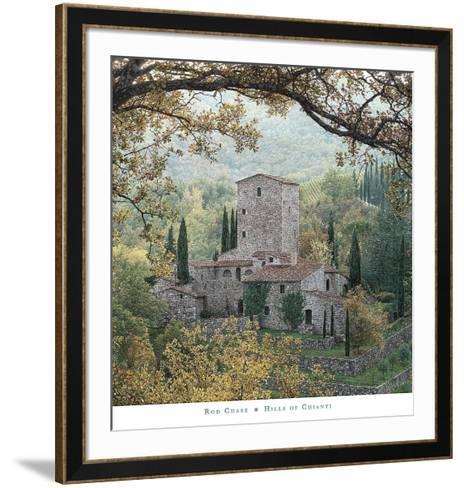Hills of Chianti-Rod Chase-Framed Art Print