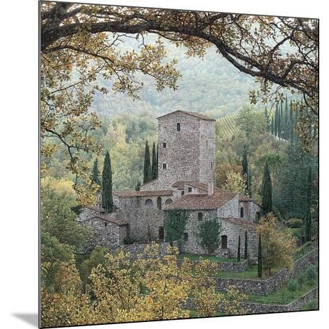 Hills of Chianti-Rod Chase-Mounted Art Print